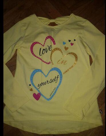 5 novih ne koriscenih majica za devojcice,velicina 10-11
