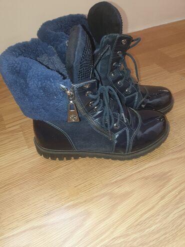 Девочковые натуральные зимние ботинки очень удобные и теплые брали за