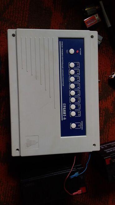 Гранит 8, прибор приемно-контрольный и управления охранно-пожарный