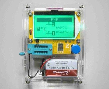 Bakı şəhərində Lcr-t4 lcd esr scr meter transistor, resistor, thyristor, capacitor,