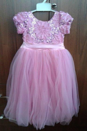 цвет нежный платье цвет в Кыргызстан: Продаю детское платье, размер на 1 годик, нежно розового цвета, было