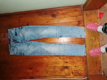 Muška odeća   Becej: Farmerice muske 31 broj Samo probane, male su zato se prodaju
