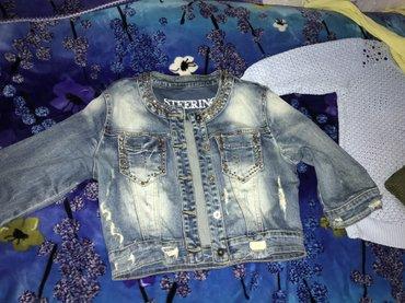 Женская джинсовая куртка в Бишкек