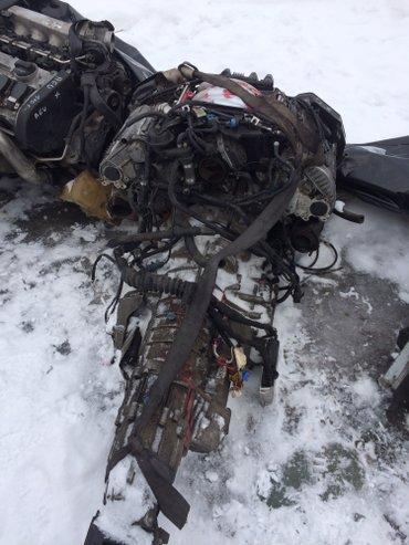 Продаю двигатель с коробкой автомат куватро на ауди А-6 обьем 2.8  в Бишкек