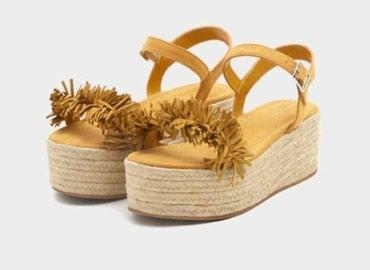 NOVE PullandBear letnje sandale sa platformom. Udobne, lako se - Kragujevac