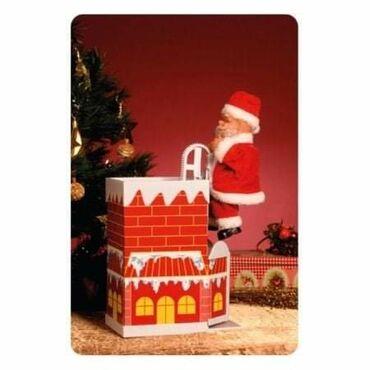 Ostalo za kuću - Srbija: HOME Deda MrazOblik-Deda mrazNapajanje-3 x 1.5 V AA baterije (nisu u