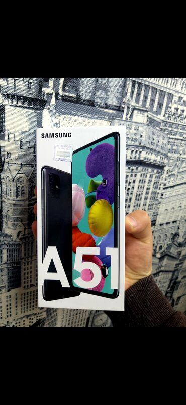 Samsung A51 128 GB qara