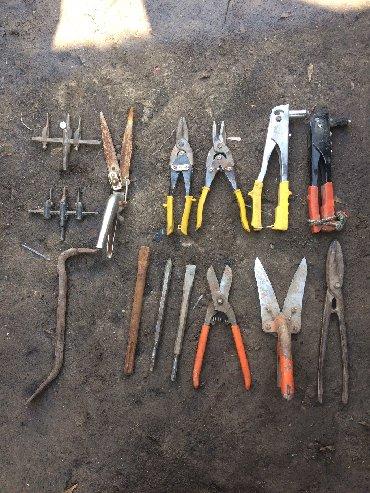 пресс по металлу гидравлический в Кыргызстан: Продаю инструменты клепальные секаторы ножницы для провиля ножницы по
