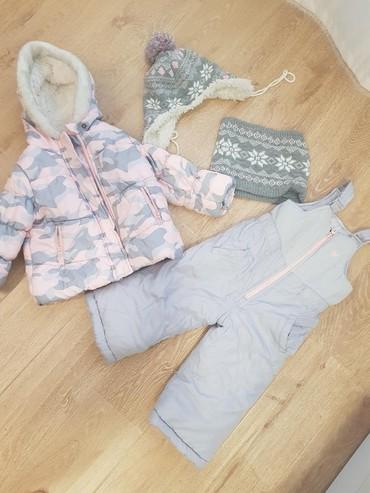 американская детская одежда в Азербайджан: Детский комбинензон на зиму очень теплый. Брэнд Oshkosh,покупали в