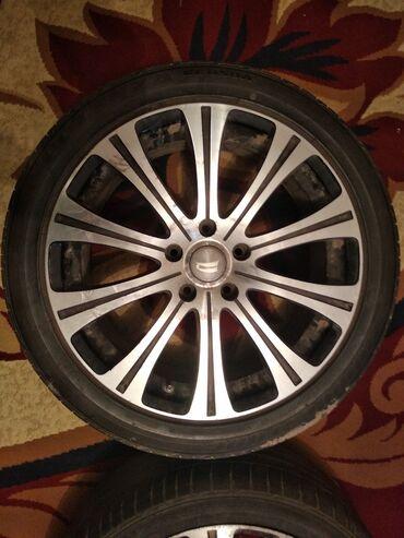 шины r18 в Кыргызстан: Диски Bridgestone BEOРазмер: R18 Сверловка 5x114.3Вылет 55Стояли на