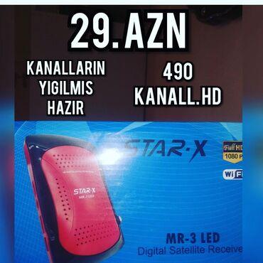 tv tuner - Azərbaycan: Krosna kreditNegdi tuner 29 aznKanallar yigilmis hazir 490 HD