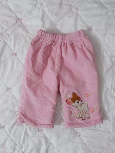 Продаю б/у теплые штаны на 3-6 в Бишкек