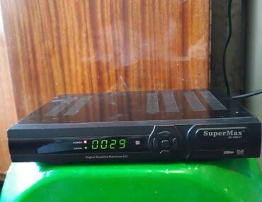 smart tv aparatı - Azərbaycan: Tuner Super Max. S2 guclu markadir . Cox az ishlenib pultu da var