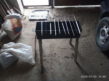 Барбекю в Ак-Джол: Продаю мангал удобный компактный легко можно таскать собой на природу