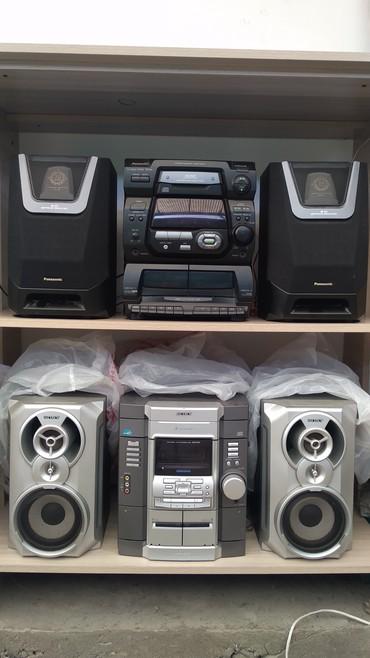 б-у-музыкальный-центр в Кыргызстан: Продаю музыкальный центр сост. отл. аукс