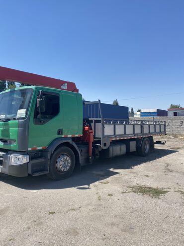 рено логан в Кыргызстан: Манипулятор Рено премиум установка tadano