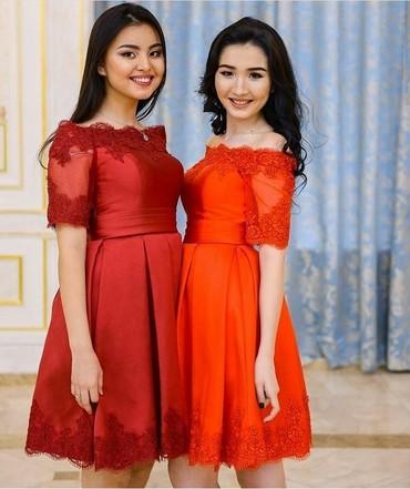 Сдаю вечернее платье на прокат 700 сом размер 42 - 48. в Токмак