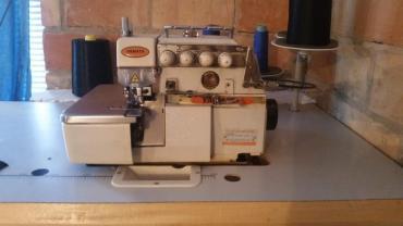 Masine za sivenje - Srbija: Yamata Overlock industrijska mašina za sivenje sa 5 konca u ispravnom