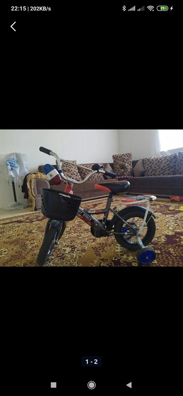 Usaq ucun velosiped 40 azn