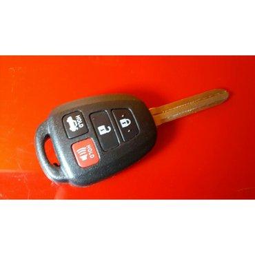 Ключ для toyota camry 50 из Америки. Цена  ключ с кнопками  и  чипом в Бишкек