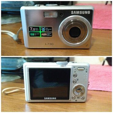 Samsung j 7 - Azərbaycan: Fotoaparat Samsung L730 modeli 7.2 Megapixel Yaddaş kartı 1 GB -
