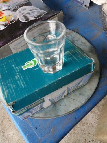 fuzhery-6-sht в Кыргызстан: Распродажа! Рюмки стекло. 6 шт. Не пользовались.6 шт за 100сом