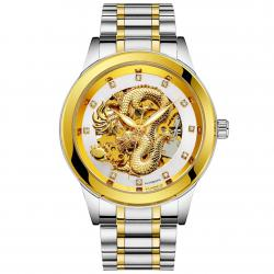 Men High-end Fully Automatic Mechanical Watches Retro Dragon Pattern σε Athens