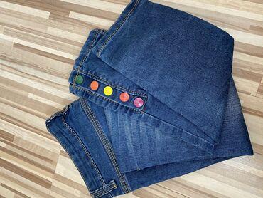 Джинсы с веселыми кнопками)) размер 26 (маломерят), отдам за 250