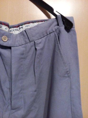 Vunene muške pantalone Vrlo malo nošene, perfekt stanje. Tople, prave - Nis