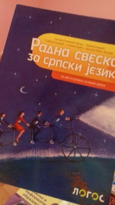 Radna sveska iz srpskog jezika za šesti razred osnovne škole