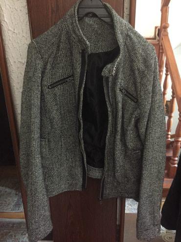 Ženske jakne | Nis: Crno-bela jaknica, u odličnom stanju, vrlo malo nošena, veličina:M
