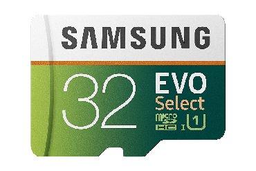 micro-sd - Azərbaycan: Telefon ucun micro sd samsung evo select yaddas karti 32 gb yenidir