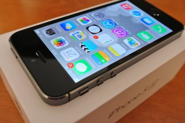 Iphone 5s space grey 16 gb Отличное состояние.  корпус, экран- абсолют в Бишкек