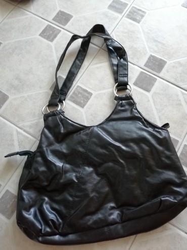 Crna kožna torba  - Obrenovac