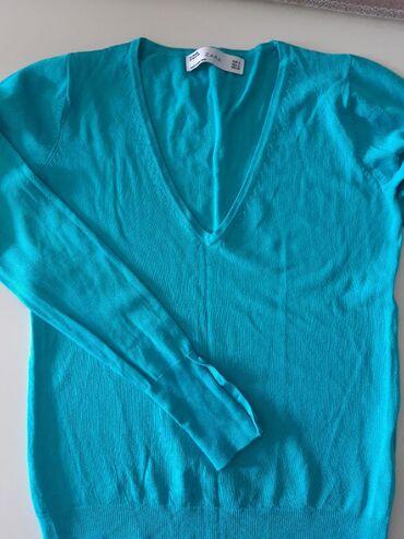 Zara svileni koncani dzemper, vel. S, kraci model, kao nov