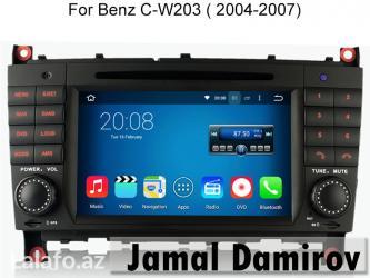 Bakı şəhərində Mercedes Benz W203 2004-2007 üçün DVD-monitor,