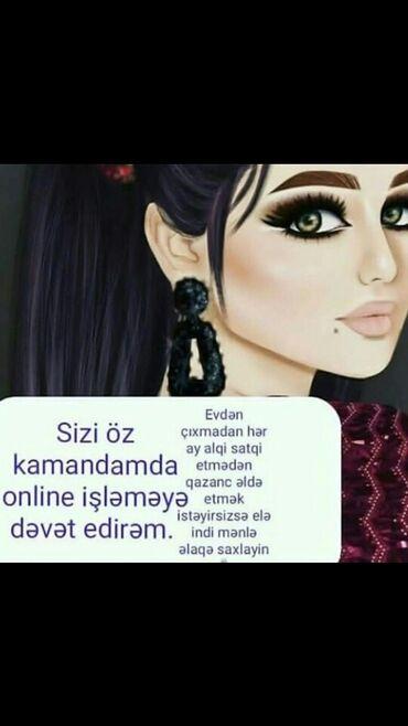 Pulsuz - Azərbaycan: Xanimlar buyurun kamandama qusulon isi oyredim evden cxmadan oz
