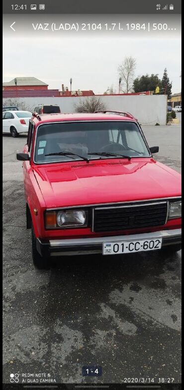 2104-vaz - Azərbaycan: VAZ (LADA) 2104 1.7 l. 1984 | 500000 km