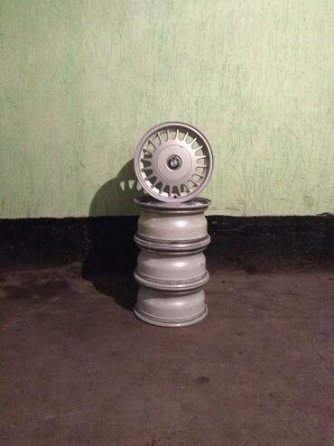 Продаю титановые диски от БМВ 5дырок размер R15 состояние нормальное