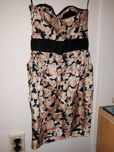 Veoma lepa cvetna haljina,za veselja,nova,nijednom nije - Vranje