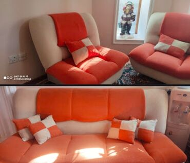диван и 2 кресла в Азербайджан: Dəst: divan + 2 kreslo