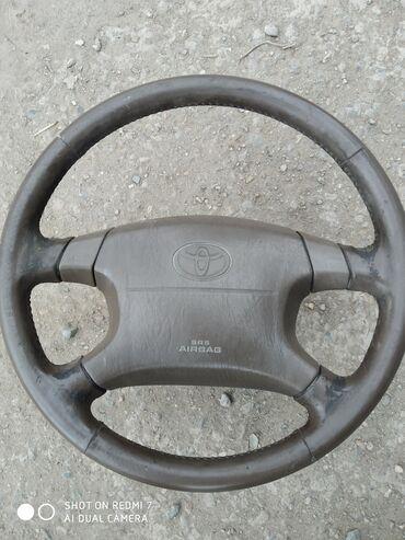 toyota corolla verso цена в Ак-Джол: Продаю руль toeta airbag целый состояние нормальное,прошу 2500, +
