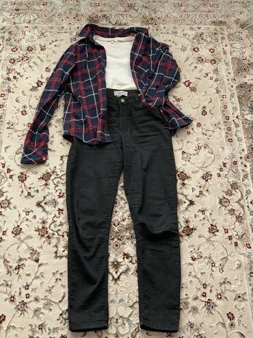 Комплект 1200 сом Отдельно джинсы - 900 Рубашка - 500 Футболка - 200