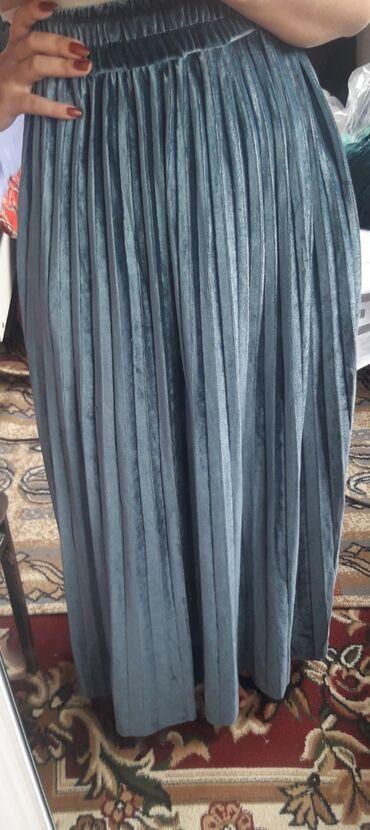 Юбка длинная новая с ремешком