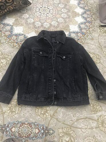 Джинсовая женская оверсайз куртка