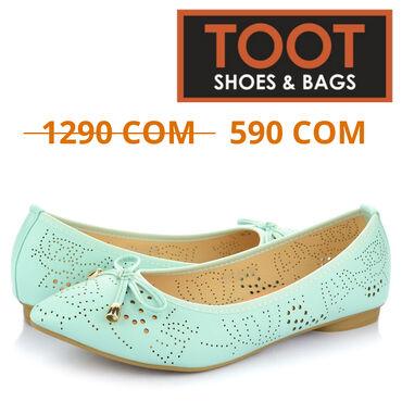 TOOT Shoes&Bags  Балетки Женские  Артикул: (1)  Цвет: Голубой  Сез