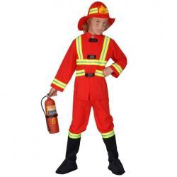 Kostim-kupaci - Srbija: Vatrogasac deciji kostim  Vatrogasac deciji kostim sastoji se od panta