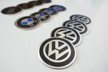 Bmw 4 серия 420d mt - Srbija: Aluminijumske nalepnice za felne fi55 BMW, VW, AUDISet od 4 komada