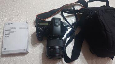 sony xperia s naushniki в Кыргызстан: Продаю Sony A77. состояние хорошее без следов использования. в