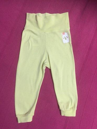 Pamucne pantalonice, Lupilu, vel 74/80. Jednom obucene